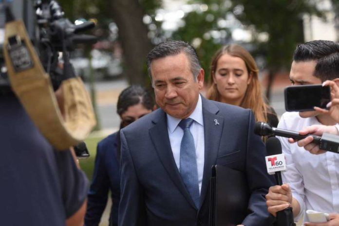 Ex-State Senator Carlos Uresti jailed on money laundering charges