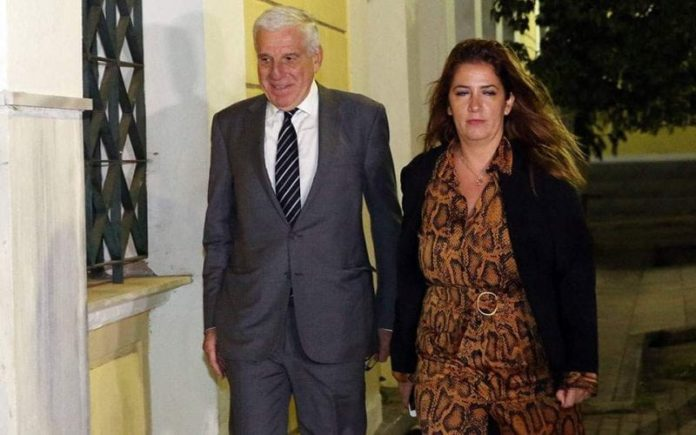 Former Greek minister and his wife remanded in custody on money laundering charges 2