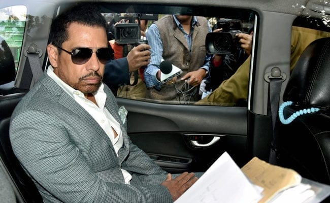 Robert Vadra's Anticipatory Bail Extended In Money Laundering Case