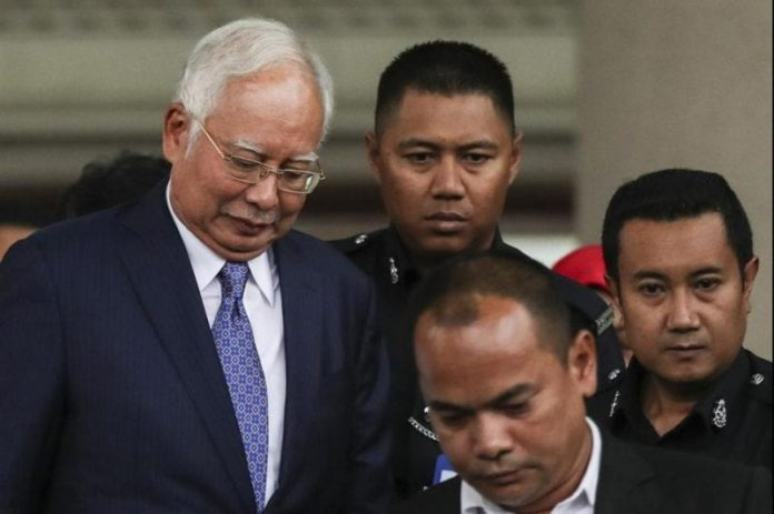 Former Malaysia PM pleads 'not guilty' in 1MDB corruption trial