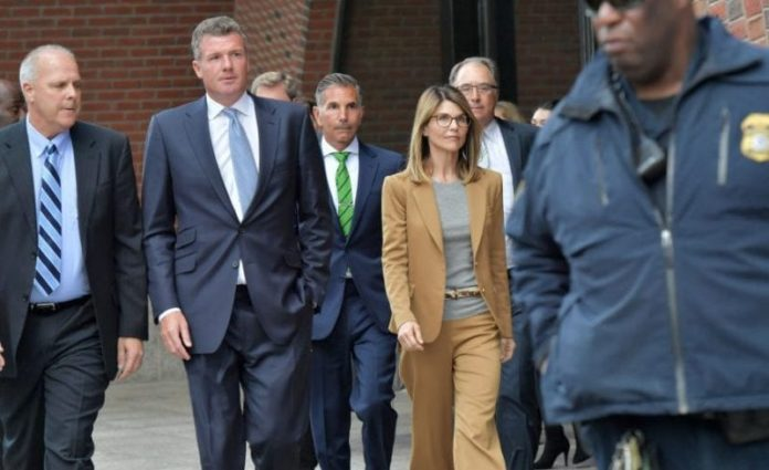 Lori Loughlin, husband plead not guilty to fraud, money laundering