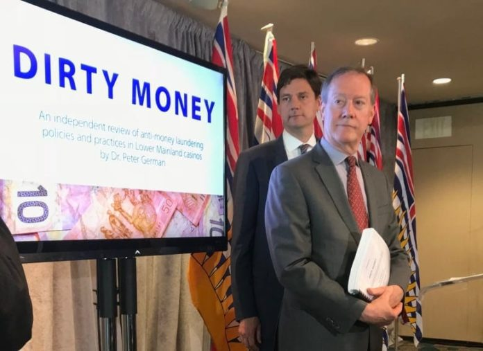 New B.C. money laundering report gets partial release today