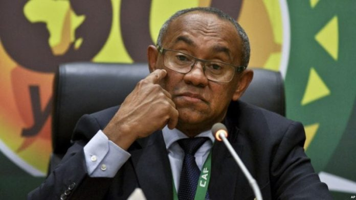 African Soccer President Ahmad Ahmad gets five-year ban for corruption