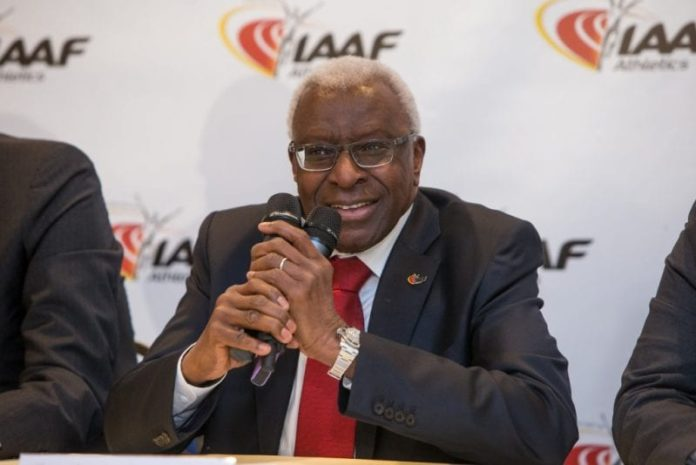 Former world athletics chief Lamine Diack jailed for corruption