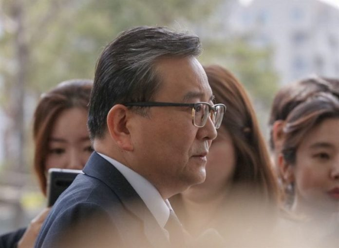 Ex-vice justice minister quizzed over sex/bribery scandal [PHOTOS]