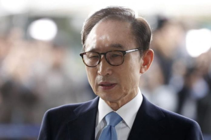 Former South Korean President Lee Myung-bak sent back to prison for 17 years in corruption case