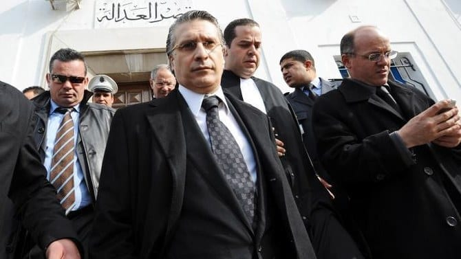 Tunisia presidential candidate charged with money laundering