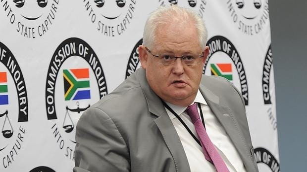 Agrizzi and co-accused appear in dock on charges of fraud, money laundering