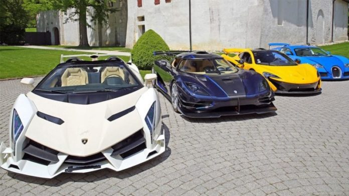 VP of Equatorial Guinea's $13 million supercar stash seized in corruption probes to be auctioned for charity 2