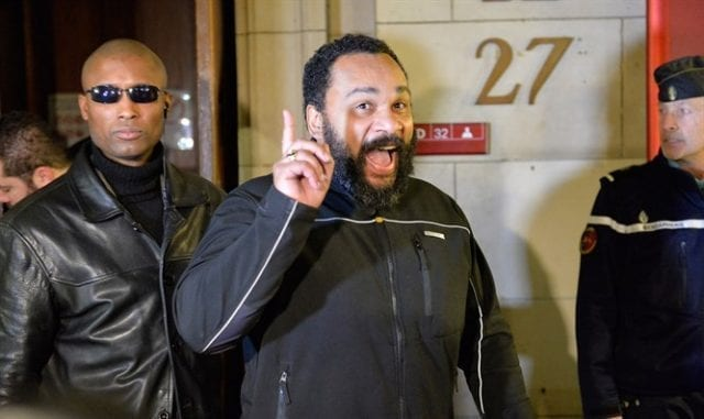 French comedian, Dieudonne known for anti-Semitic jokes guilty of fraud 2