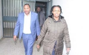 waititu and wife