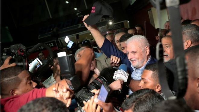 Former Panama President Martinelli not guilty of corruption