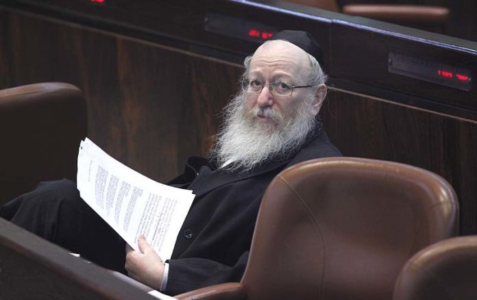 Police Recommended Indicting Litzman for Bribery, Fraud, Breach of Trust