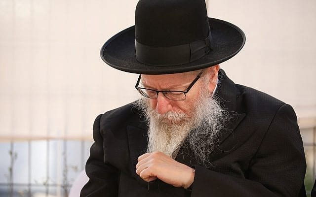 Police recommend Litzman stand trial for bribery, aiding alleged pedophile