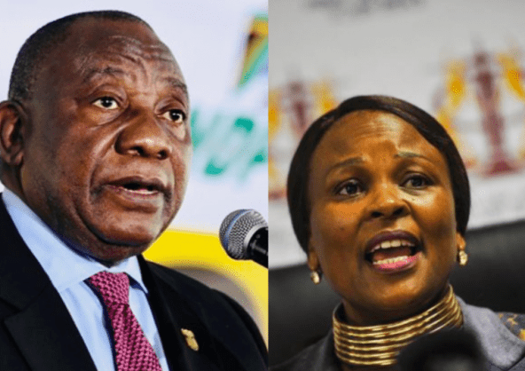 Mkhwebane's money laundering findings 'wholly incompetent', says Ramaphosa – report