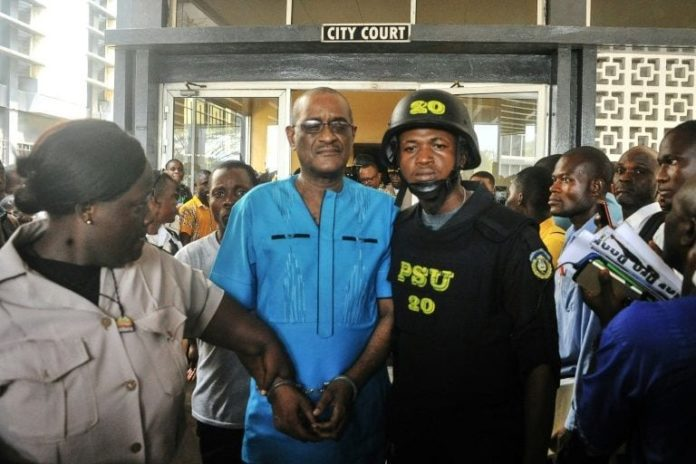 Liberia ex-central bank officials plead not guilty in graft scandal