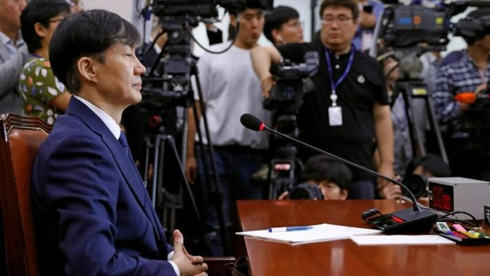 South Korean justice minister accused of corruption and abuse of office 2