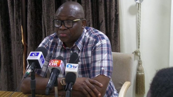 Nigeria: Ex-governor Fayose's money laundering trial resumes October 21 2