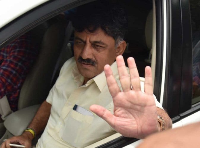 Congress heavyweight and chief troubleshooter DK Shivakaumar arrested by ED in money laundering case