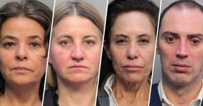 4 American Airlines flight attendants arrested at Miami airport on money laundering charges