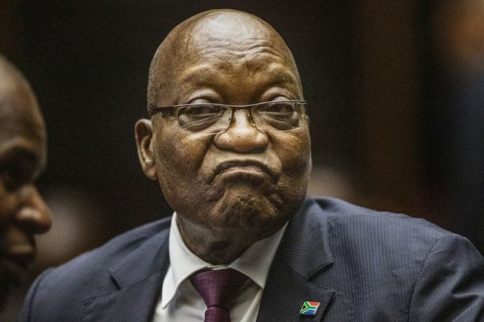 South Africa's ex-President Jacob Zuma sentenced to 15 months in corruption case