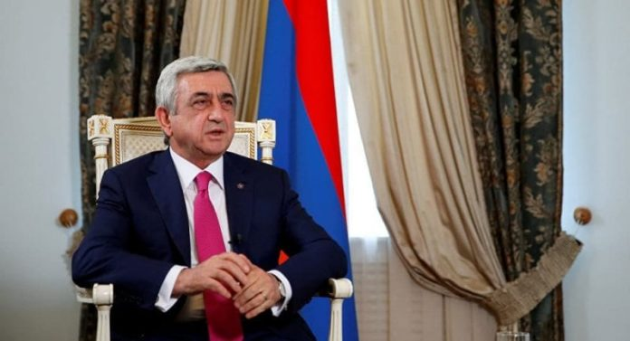 Armenia ex-president Sargsyan accused of embezzling state funds 2