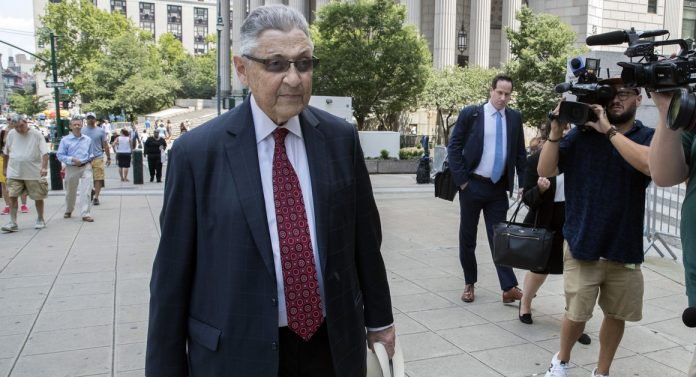 Former NY Assembly Speaker Sheldon Silver loses appeal in bribery conviction