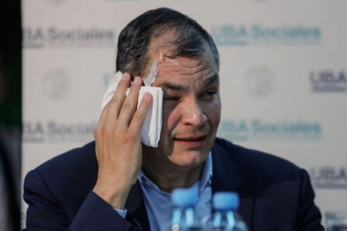 Ecuadorian court upholds 8 years sentence of ex-president Correa in bribery case