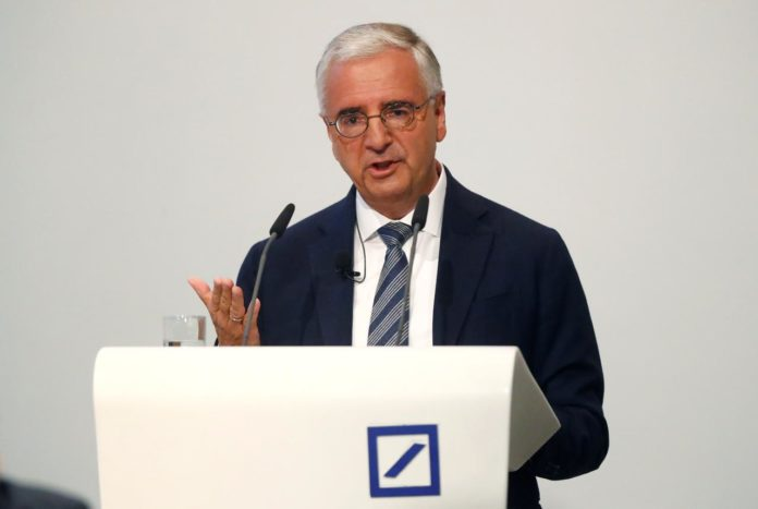 Deutsche Bank investor seeks the ouster of chairman for money laundering failings 2
