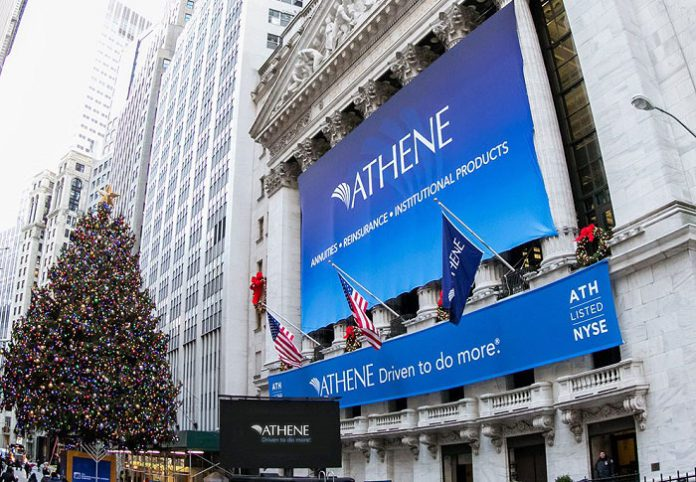 Retirement services firm Athene pays $45 million fine for operating without license 2
