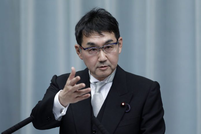 Japan's ex-Justice Minister Kawai admits to giving bribes