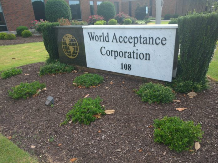 World Acceptance Corp. reserves $21.7 million to settle bribery probe 2