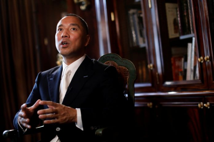 Fugitive billionaire Guo Wengui claims China pay £1.6 billion yearly bribes to the Vatican