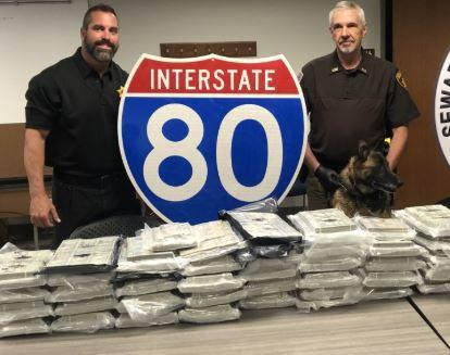 Traffic violation leads to discovery of $1.9 million cash in pickup truck