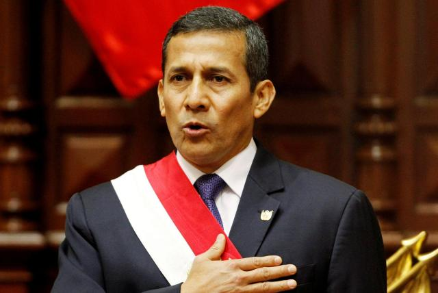 Former Peruvian president Humala faces probe over Odebrecht corruption scheme