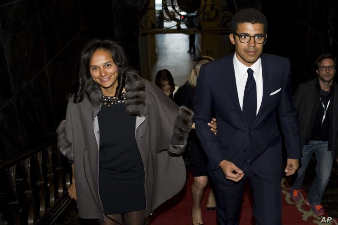 Dutch prosecutors probes firm linked to husband of Angolan billionaire Isabel dos Santos