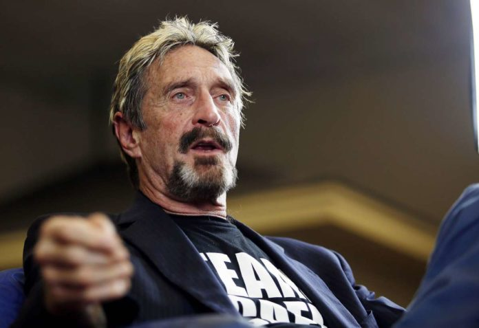 "U.S. SEC sues John McAfee over promotion of ""worthless"" cryptocurrency ICO 2"