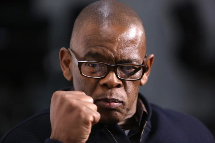 South Africa charges top politician Magashule with corruption