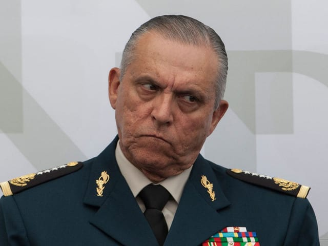 Mexico drop corruption charges against ex-defence minister arrested in the US