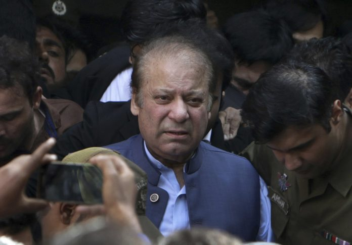 Pakistan starts legal process to extradite ex-PM Sharif over corruption charges