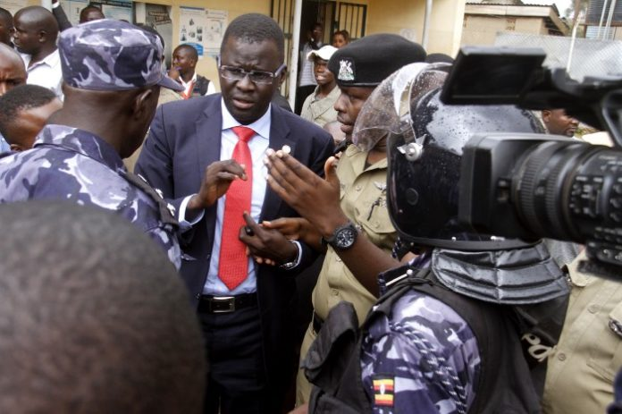 Uganda arrests human rights lawyer on money laundering charges