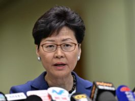 Hong Kong's leader Carrie Lam drops plan to extend anti-bribery laws to her role as chief executive