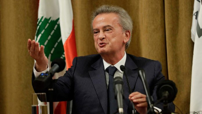 France probes personal wealth of Lebanon's central bank chief Riad Salameh