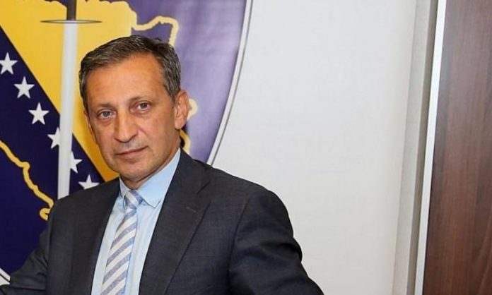 Bosnia's intelligence chief detained over money laundering allegations