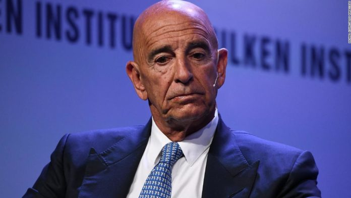 US DoJ charges Tom Barrack with acting as agent of UAE
