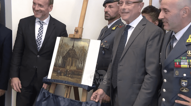 Italian fugitive Raffaele Imperiale arrested in connection to Van Goghs Theft